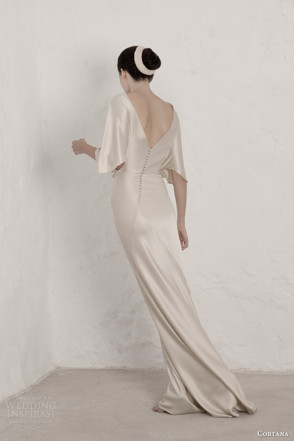 cortana wedding dresses 2015 valentina gown with sleeves