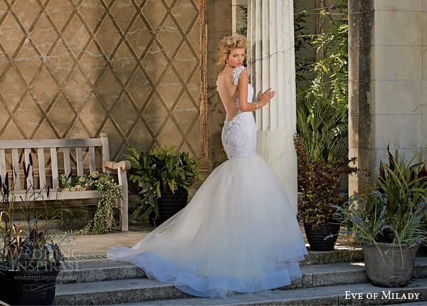 eve of milady boutique 2014 mermaid wedding dress style 1533