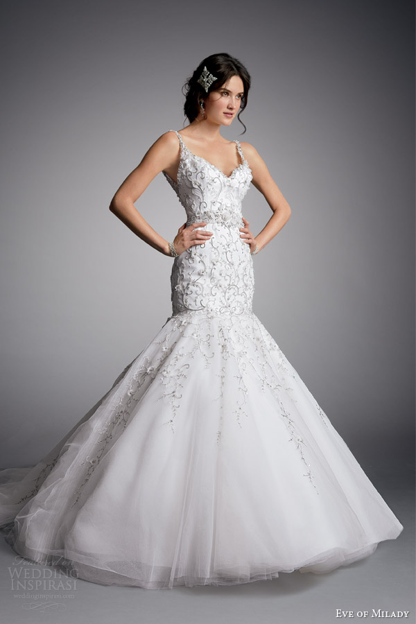 Mermaid Style Wedding Dresses 51 Trend eve of milady couture