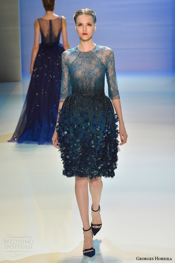 Georges Hobeika Fall Winter 2014 2015 Couture Collection
