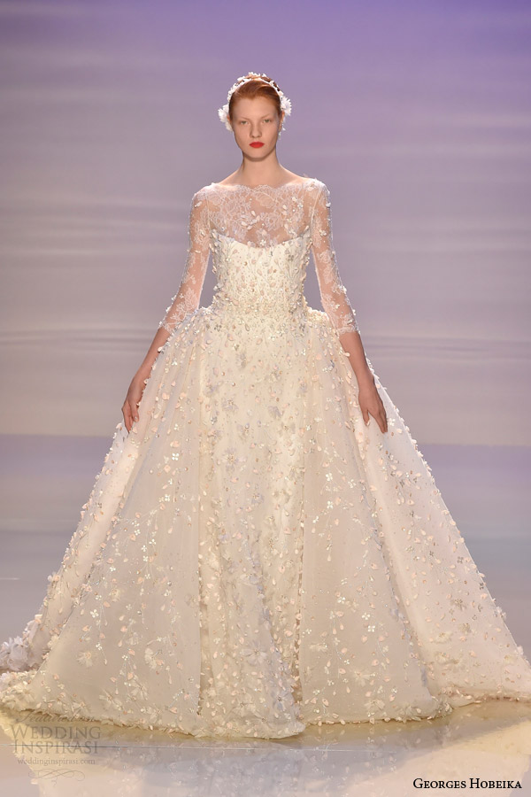 Georges Hobeika Fall Winter 2014 2015 Couture Collection Wedding Inspirasi
