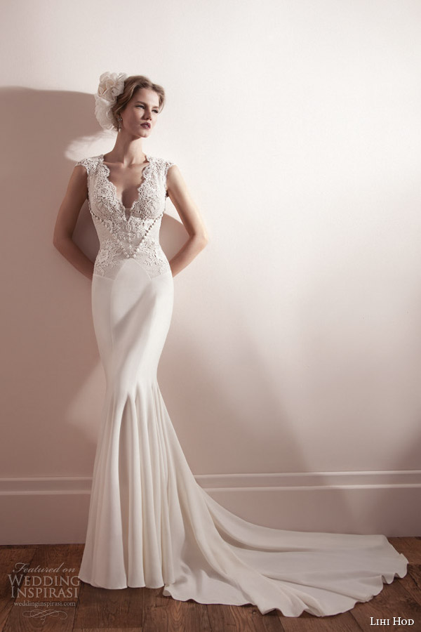 Lihi hod spring 2013 wedding dresses wedding inspirasi for Lihi hod wedding dress