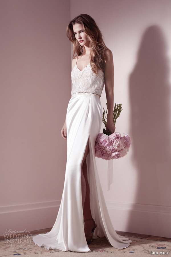 Draped Wedding Dress