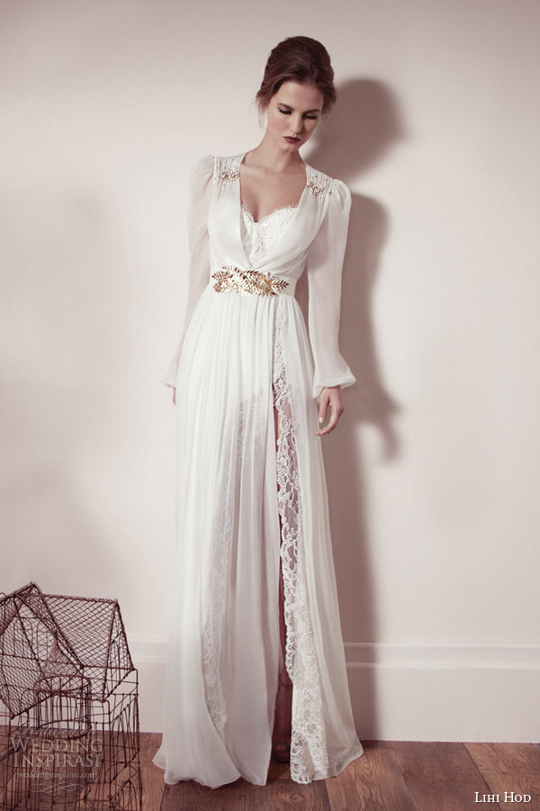 White Gold Wedding Dress 58 Awesome lihi hod spring bridal