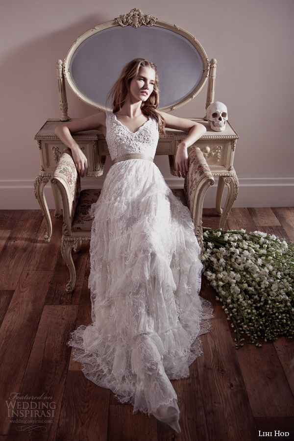 Lihi hod spring 2013 wedding dresses wedding inspirasi for Lihi hod wedding dress prices