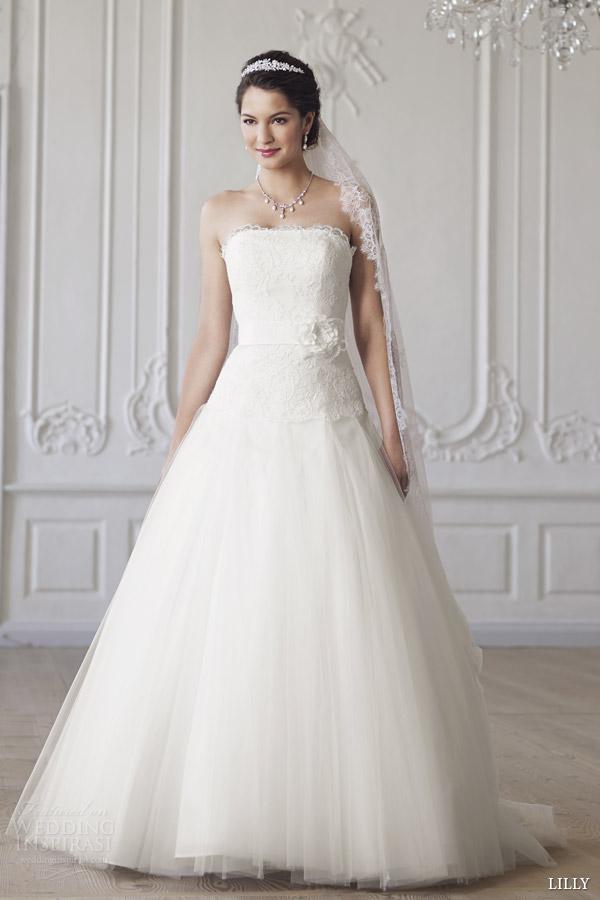 Korean Style Wedding Dress 97 Inspirational lilly bridal strapless wedding