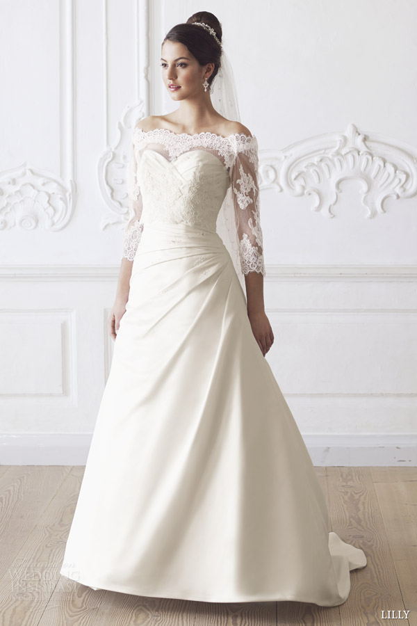 Flattering Wedding Dress 23 Trend lilly bridal off the