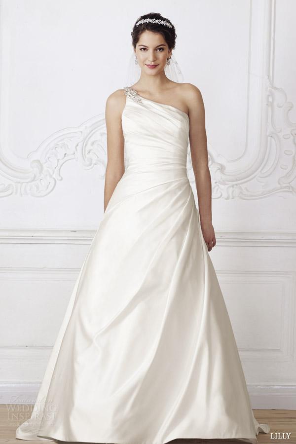 Wedding Dresses One Shoulder 25 Great lilly wedding dresses one