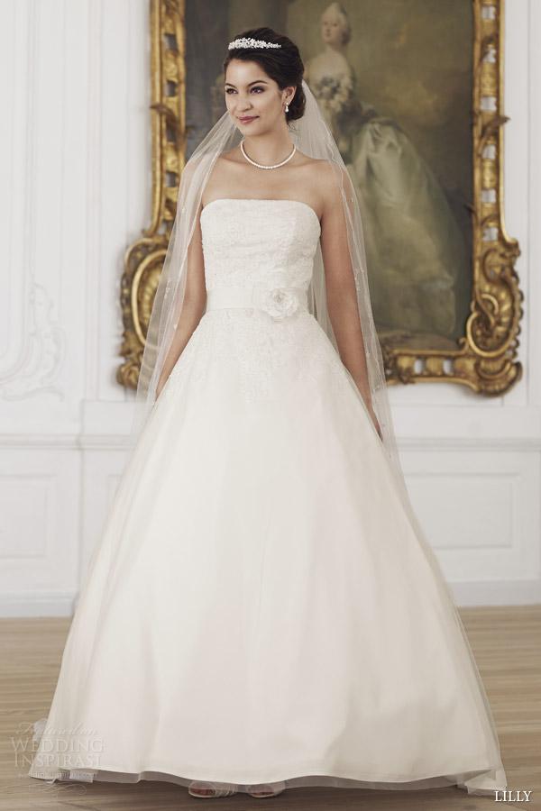 Korean Style Wedding Dress 86 Good lilly wedding dresses strapless