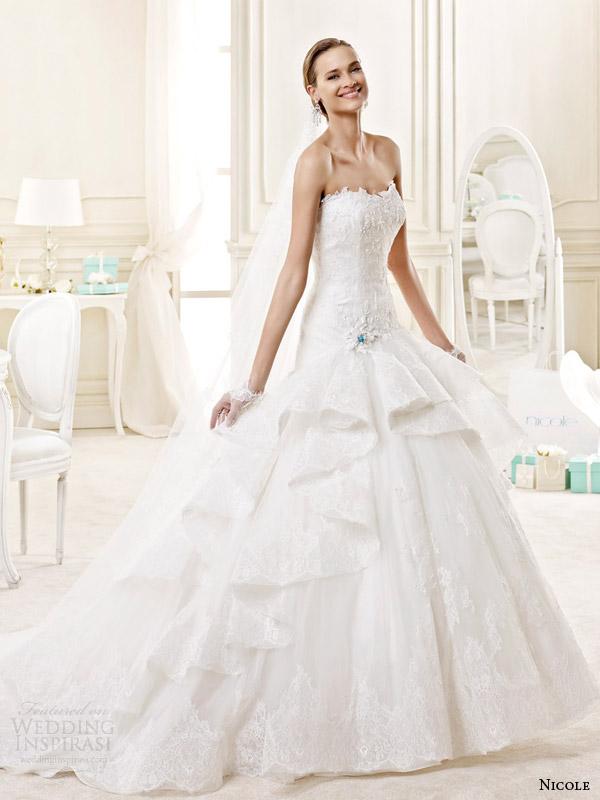 Tiffany Wedding Dresses 14 Perfect nicole spose bridal style