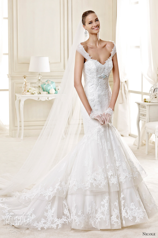 nicole spose bridal 2015 style 23 1 niab15085ivtf off the shoulder sweetheart trumpet wedding dress