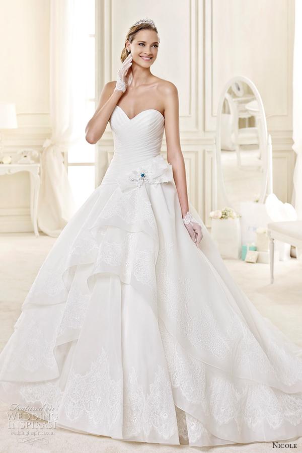 Tiffany Wedding Dresses 54 Amazing nicole spose bridal style
