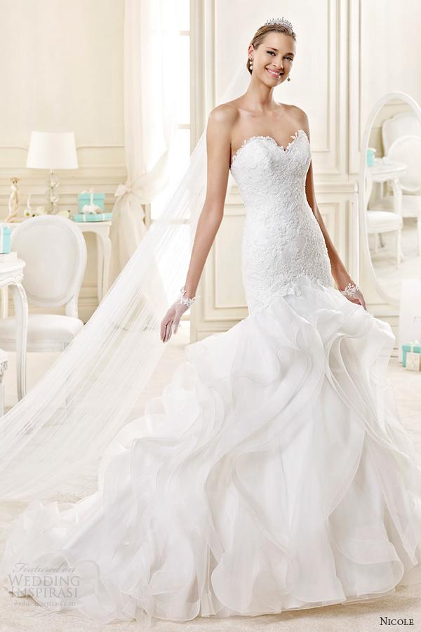 Tiffany Wedding Dresses 41 Marvelous nicole spose bridal style