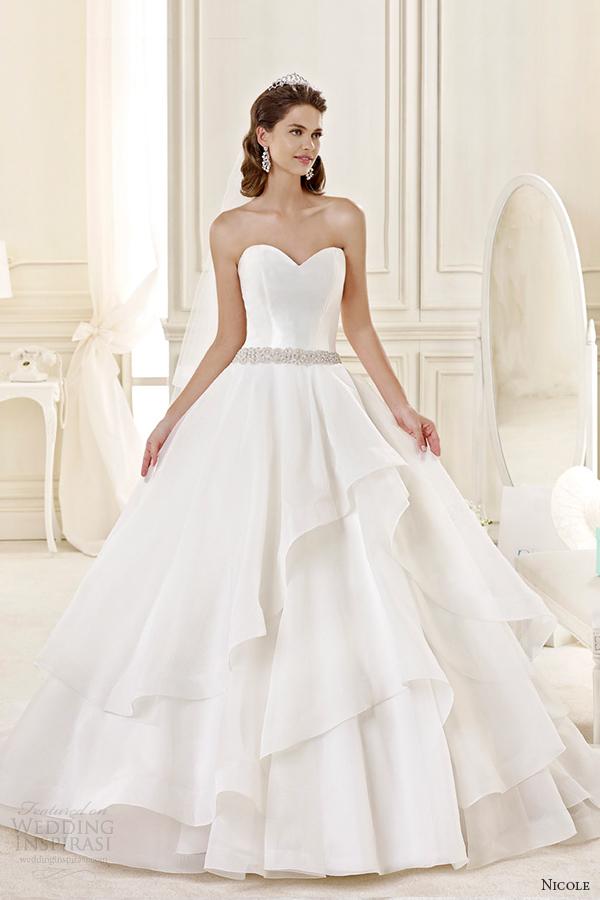 Tiffany Wedding Dresses 38 Nice nicole spose bridal style