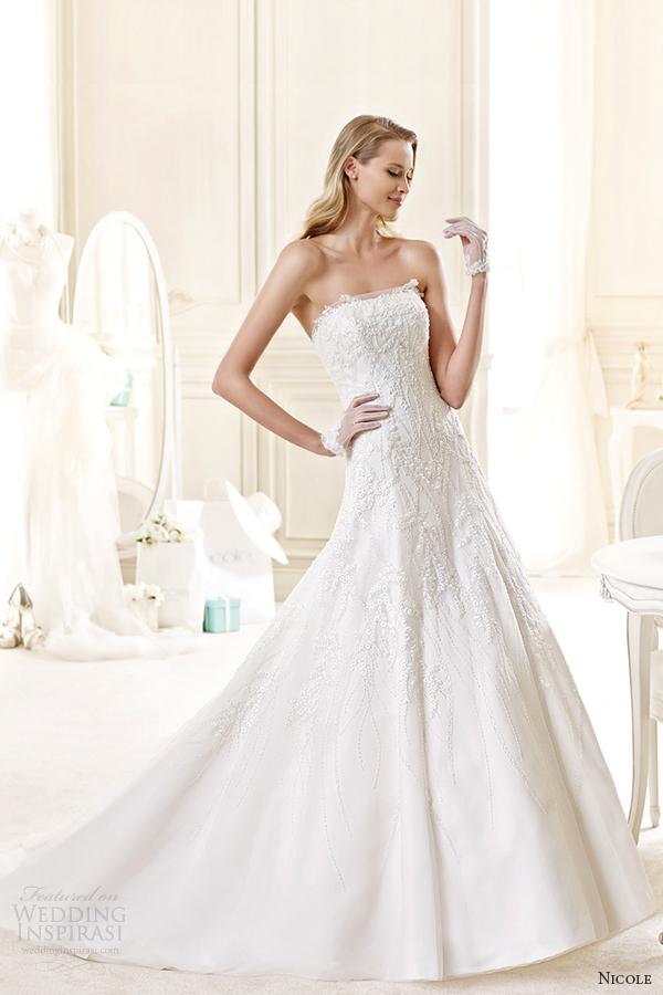 Tiffany Wedding Dresses 43 Fancy nicole spose bridal style