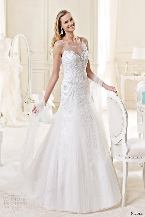 Tiffany Wedding Dresses 51 Elegant nicole spose bridal style