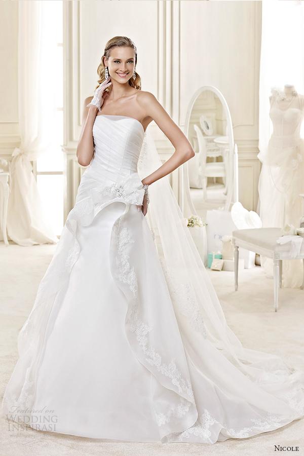 Tiffany Wedding Dresses 25 Spectacular nicole spose bridal style