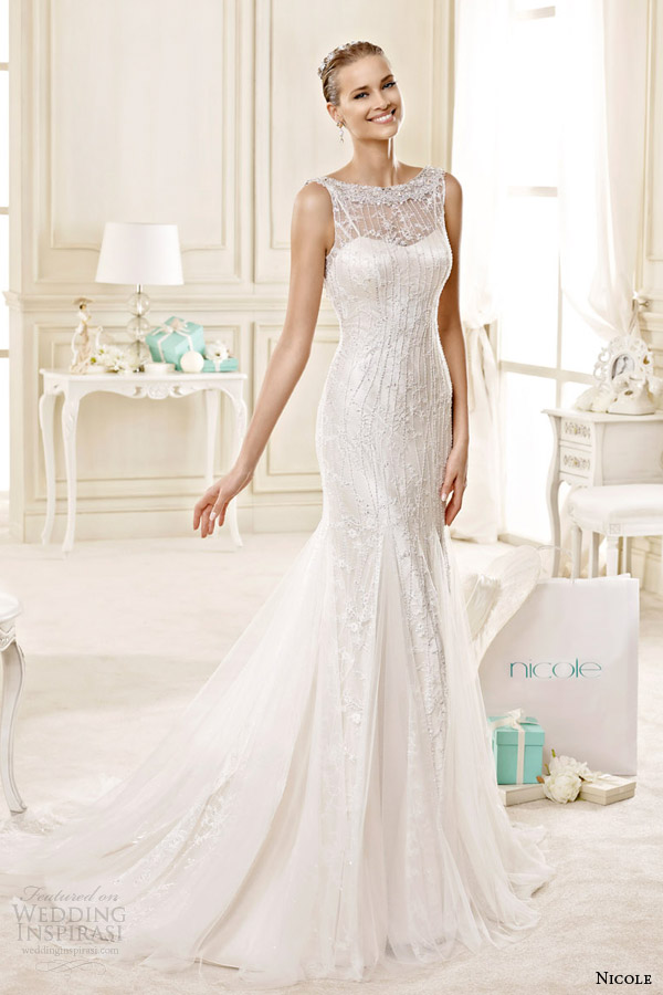 Tiffany Wedding Dresses 12 Popular nicole spose bridal style