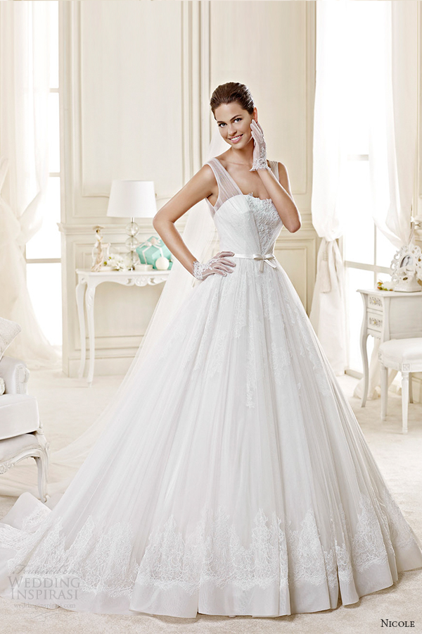 Wedding Dress With Ruching 74 Good nicole spose bridal style