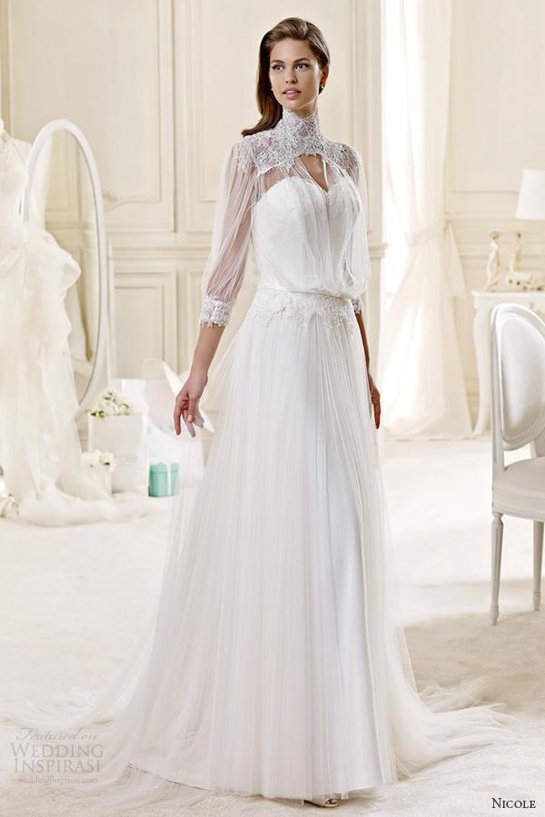 Audrey Hepburn Style Wedding Dresses 70 Trend nicole spose bridal style