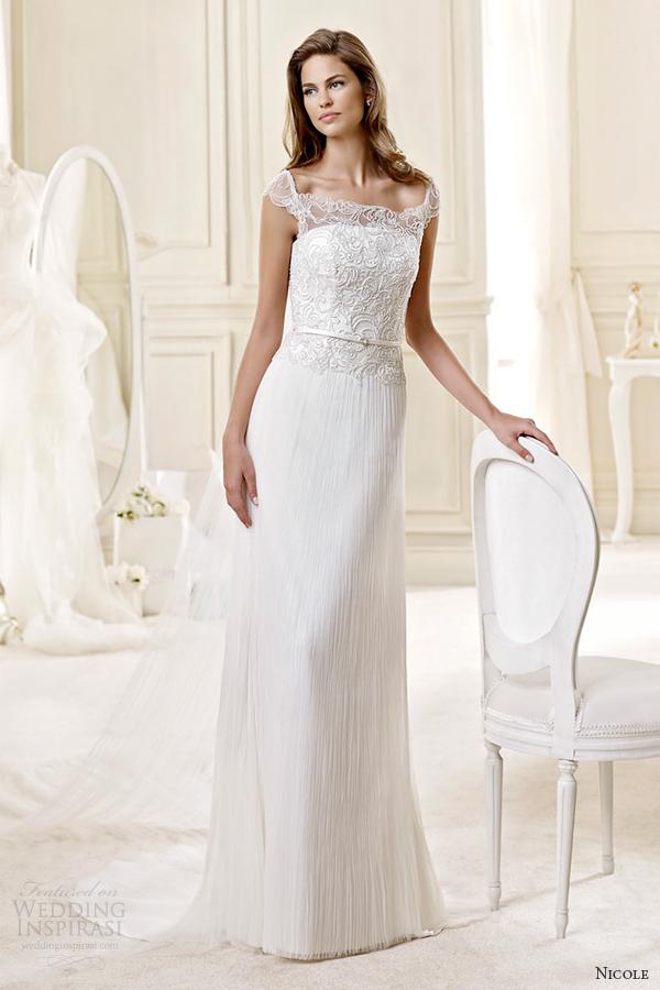 Tiffany Wedding Dresses 56 Popular nicole spose bridal style