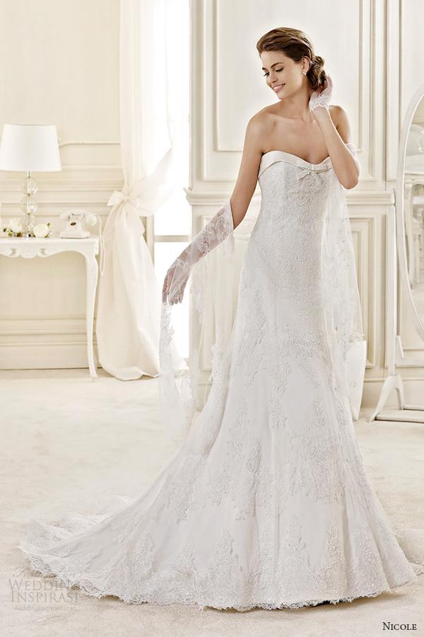 Audrey Hepburn Style Wedding Dresses 65 Amazing nicole spose bridal style
