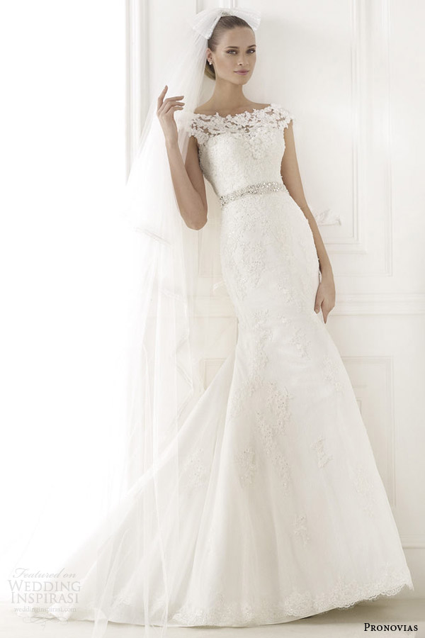 pronovias 2015 pre bridal collection botis cap sleeve wedding dress