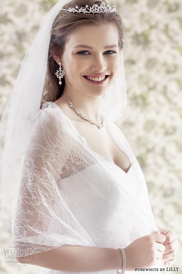 Lace Bolero Jacket For Wedding Dress 93 Amazing purewhite by lilly bridal