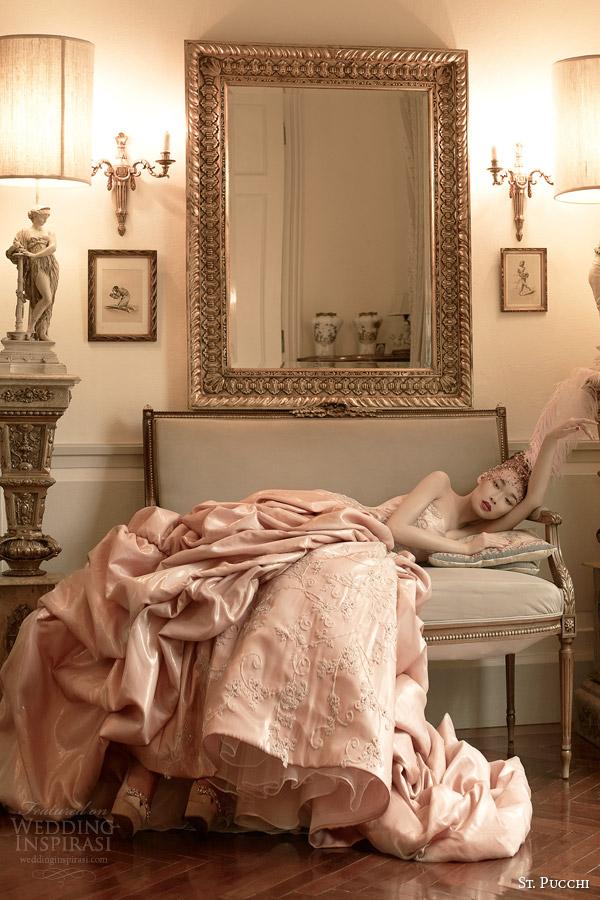 2014 2015 afrodite rosa vestido de noiva cor de noiva st Pucchi