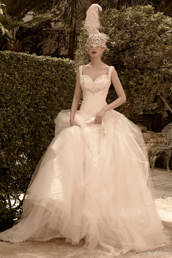 St. Pucchi 2014 2015 Bridal Collection
