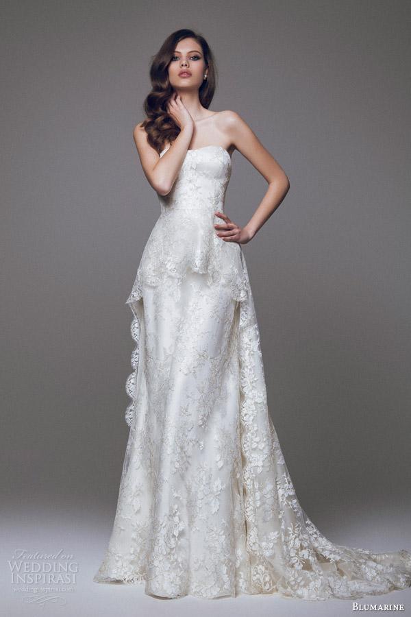 Blumarine Bridal 2017 Wedding Dresses Part 1 Inspirasi
