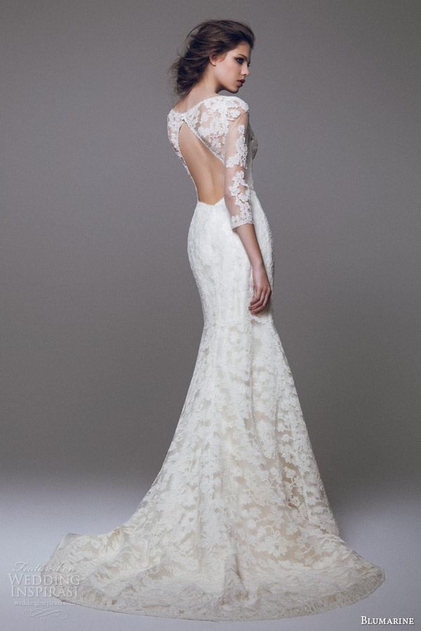 Blumarine Bridal 2015 Wedding Dresses — Part 1 | Wedding Inspirasi