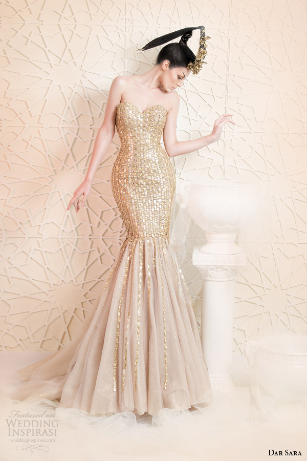 Dar Sara 2014 Couture Collection Wedding Inspirasi