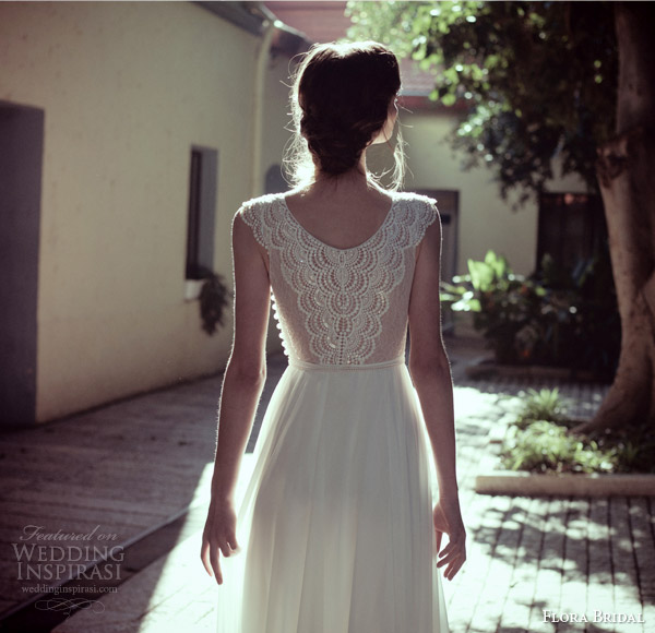 Flora bridal wedding dresses