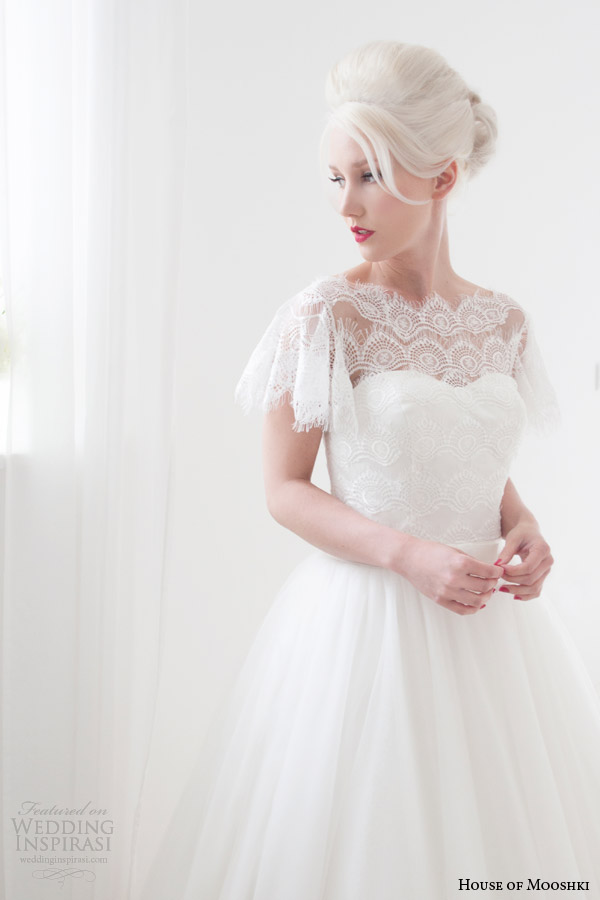 Modest Tea Length Wedding Dresses