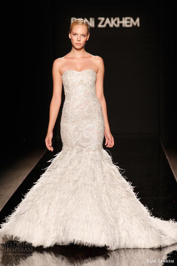 rani zakhem couture wedding dress fall winter 2014 2015