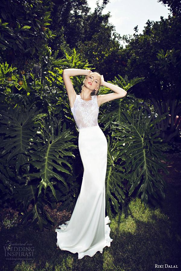 riki dalal 2015 provence sleeveless wedding dress style 1502