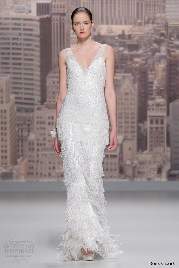 Art Deco Wedding Dresses 12 New rosa clara wedding dress