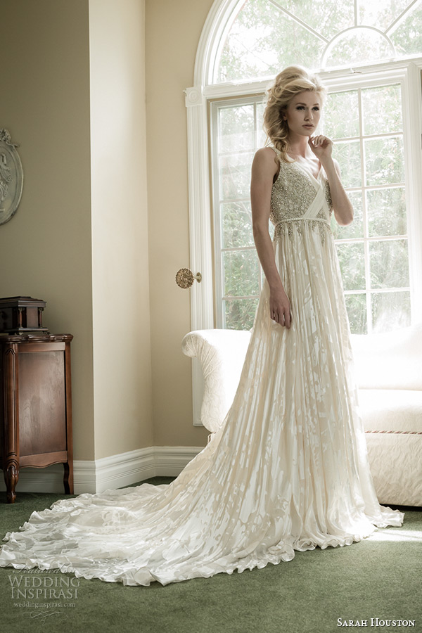 Sarah Houston Spring 2015 Wedding Dresses | Wedding Inspirasi