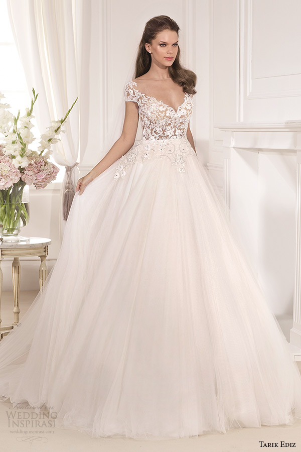 Top 30 most popular wedding dresses on wedding inspirasi for A line wedding dresses sweetheart neckline