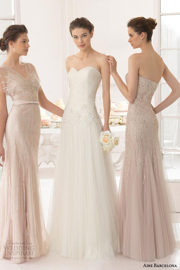 aire barcelona bridal 2015 abel vestido de noiva