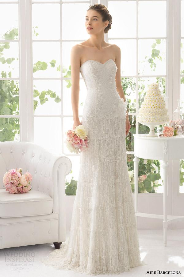 aire barcelona bridal 2015 adriana vestido de noiva