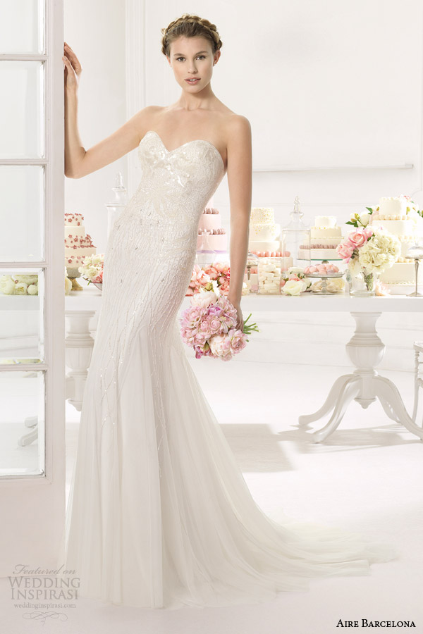 aire barcelona bridal 2015 ainoa vestido de noiva