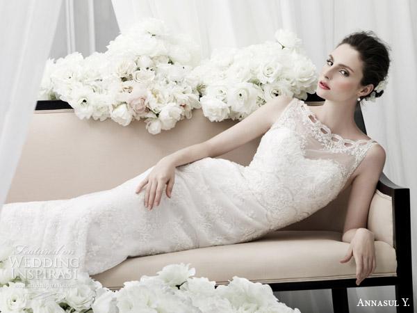 annasul y 2015 bridal sleevless bateau neck sheath wedding dress ay2904b