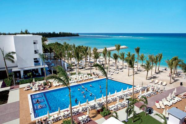 beach destination wedding hotel riu palace jamaica pool sea view