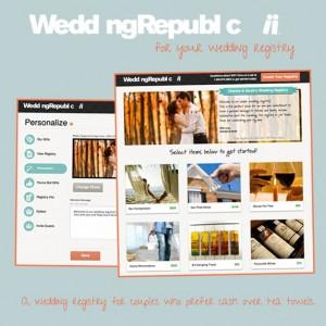 cash wedding registry wedding republic