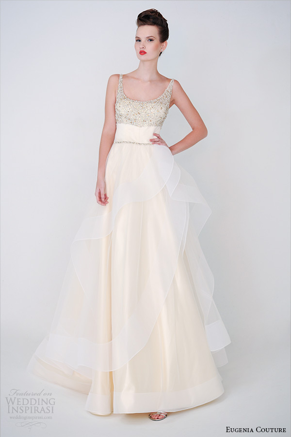 Simple Cream Colored Wedding Dresses
