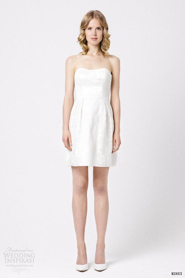 kisui 2015 roza short wedding dress