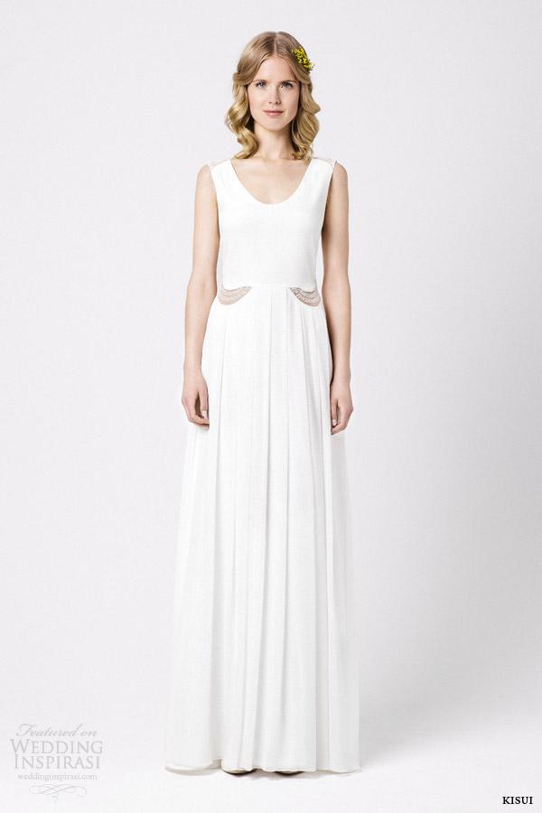 kisui bridal 2015 bryony sleeveless wedding dress