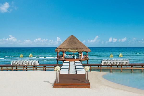picture perfect destination wedding gazebo secrets resorts silversands riviera cancun mexico